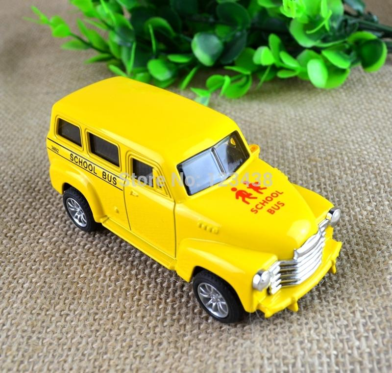 Genuine Metal Alloy School Bus Diecast Toys for Kids 10*4*4cm(China (Mainland))