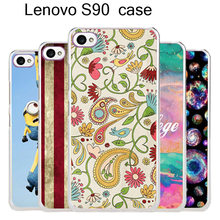 Hot Selling 23 Patterns Colored Painting For Lenovo Sisley S90 Cell phone Case Cover For Lenovo S90 Mobile Phone Bags & Cases