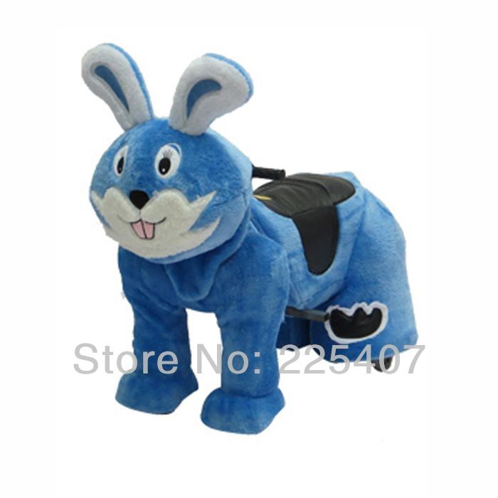 12v plush animal ride on toys China animal ride reseller opportunities 5 colors(China (Mainland))