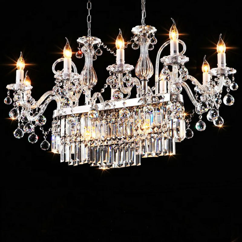 Здесь можно купить  Luxury K9 crystal pendant chandelier lustre de cristal living room lighting fixture lamparas para sala  home decoration lamp  Luxury K9 crystal pendant chandelier lustre de cristal living room lighting fixture lamparas para sala  home decoration lamp  Свет и освещение