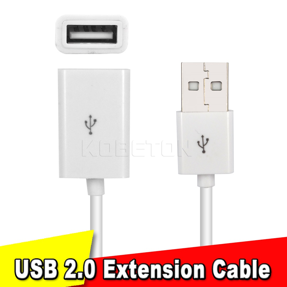 USB 2.0 A Male to Female Extension Data Cable 0.5M USB Extension Cable Extender Charge Extra Cable For PC Laptop Tablet(China (Mainland))