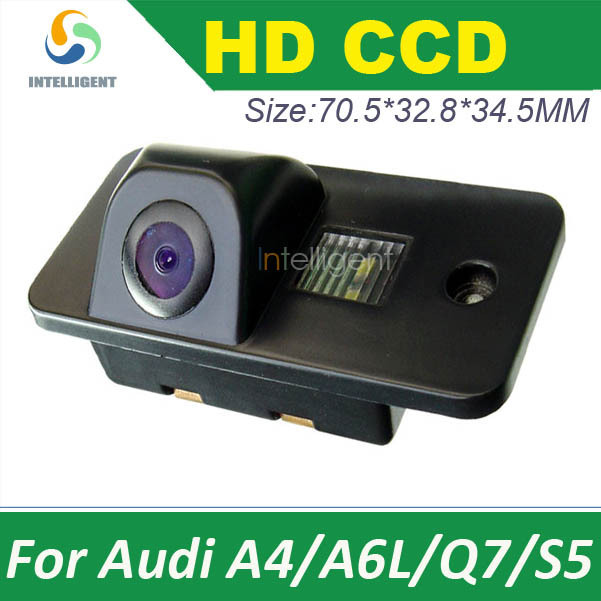 Car rear view Camera FOR Audi A4 A6L Q7 S5 color CCD car backup camera night vision