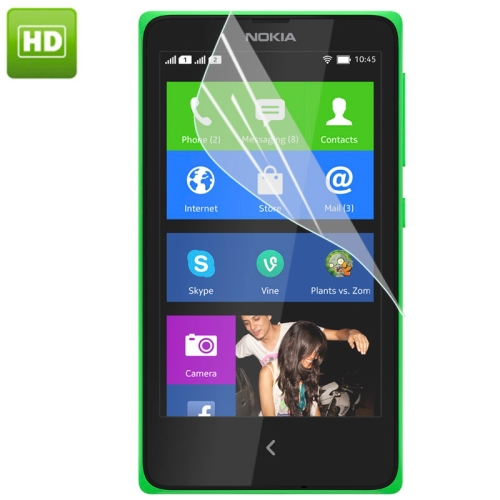 Hot Sale HD Screen Protector for Nokia X2 Ultra Thin Clear Film Phone Screen Cover Taiwan Material(China (Mainland))