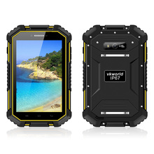 "vkworld v6 Rugged 7.0"" HD 4G Tablet Smartphone Outdoor IP67 Waterproof Android4.4 MTK8732VC Quad Core 2GB+16GB 5MP 13MP 10000mAh(China (Mainland))"