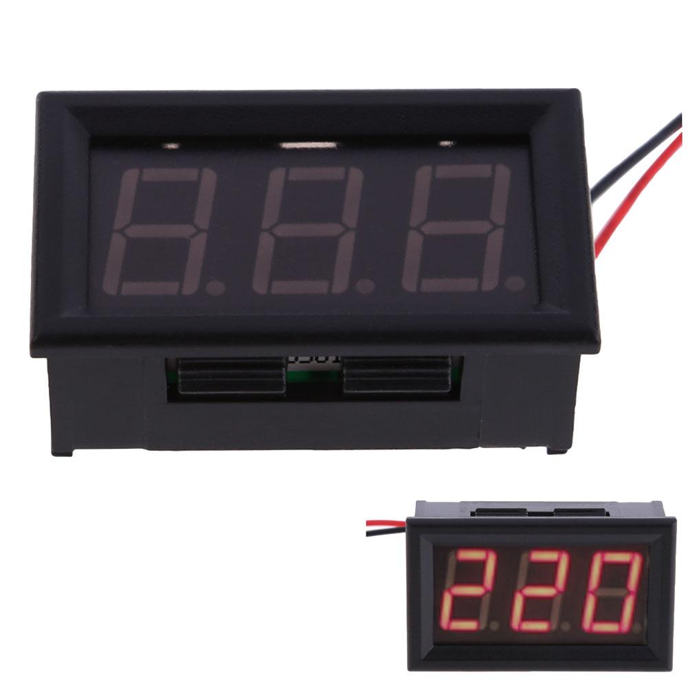 LED Digital Volmeter AC30-500V LED Digital Volt Meter Gauge Voltage Current Home Use Tool Voltmeter Voltage Panel Meter(China (Mainland))