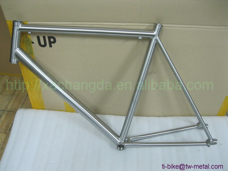 titanium single speed bicycle frame high quality t