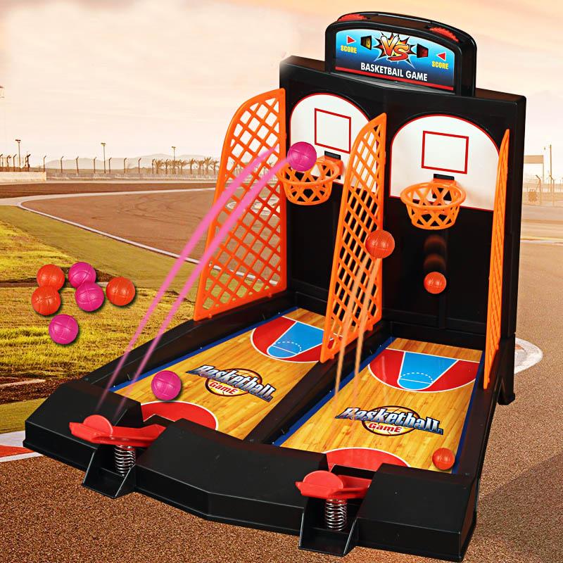 Parent-child interaction Desktop Basketball Game Educational Indoor Fun & Sports toys Office Basketball Shooting Game(China (Mainland))