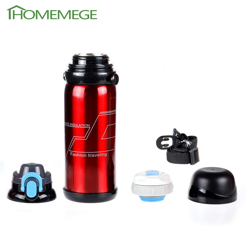 800ml Thermos Mug Vacuum Cup Stainless Steel Bottle Thermal cold water Tumbler Travel Thermocup Coffee Mugs EMS Free Shipping(China (Mainland))