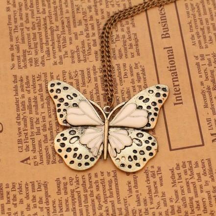 Гаджет  . is $10 (mix order)  Fashion vintage butterfly necklace wholesale Jewelry ! cRYSTAL sHOP None Ювелирные изделия и часы