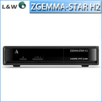 zgemma star H2 as cloud ibox 3 twin tuners DVB-S2+T/C tuner enigma 2 linux OS Zgemma-star H2 Full HD satellite receiver