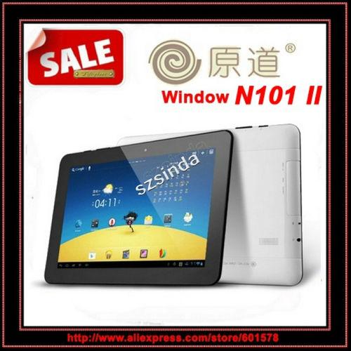 "On Sale Original Yuandao N101 II 10.1"" IPS Tablet PC RK3066 Dual Core Android 4.1 Dual Camera HDMI bluetooth(Hong Kong)"