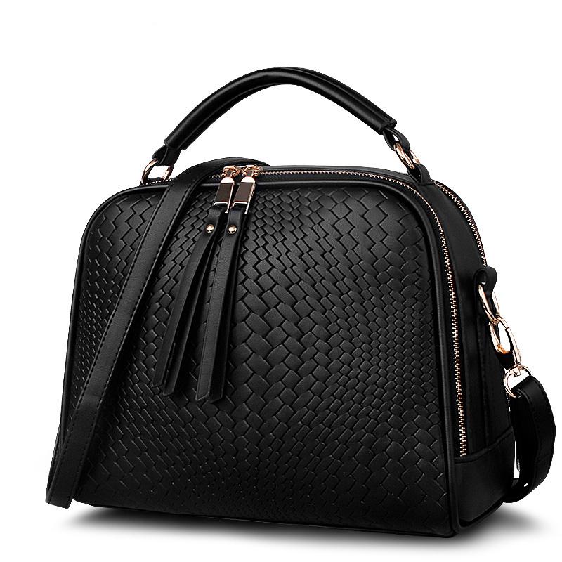 Black knit handbags selling wedding party clutch bag ladies retro female high-quality shopping bag shoulder bag Post(China (Mainland))