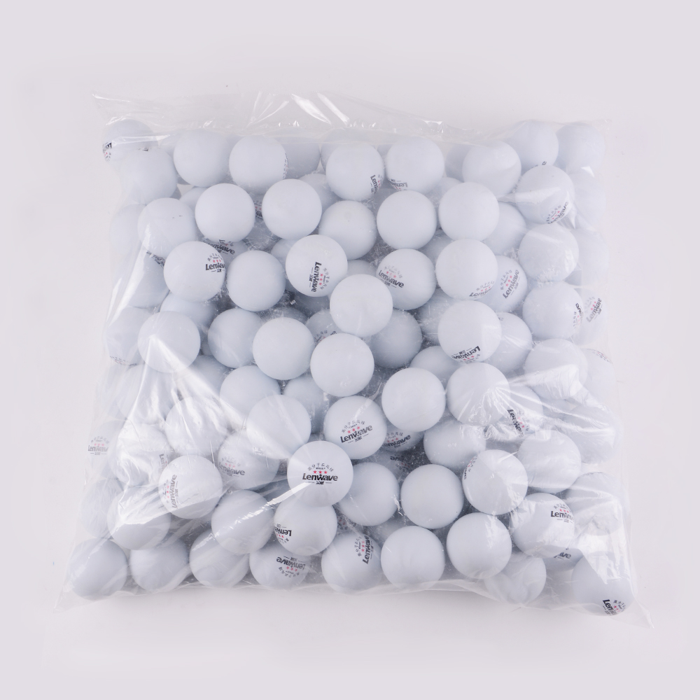 China Lenwave Brand 3-Star Olympic Table Tennis Balls & 40 New Material White Ping Pong Balls 150 pcs/lot Free Shipping(China (Mainland))