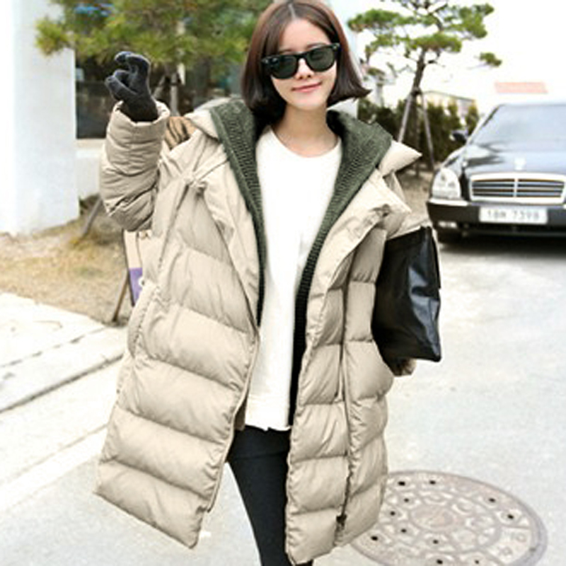 Winter Coat Women Thick Casual Parkas Long Cotton Jacket Women's Clothing Plus Size Hoodies C1400