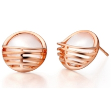925 Sterling Silver Earrings for Women Brincos Pequenos Joyeria Cheap Fashion Jewelry 18k Gold Plated Earring 2015 Ulove R700(China (Mainland))