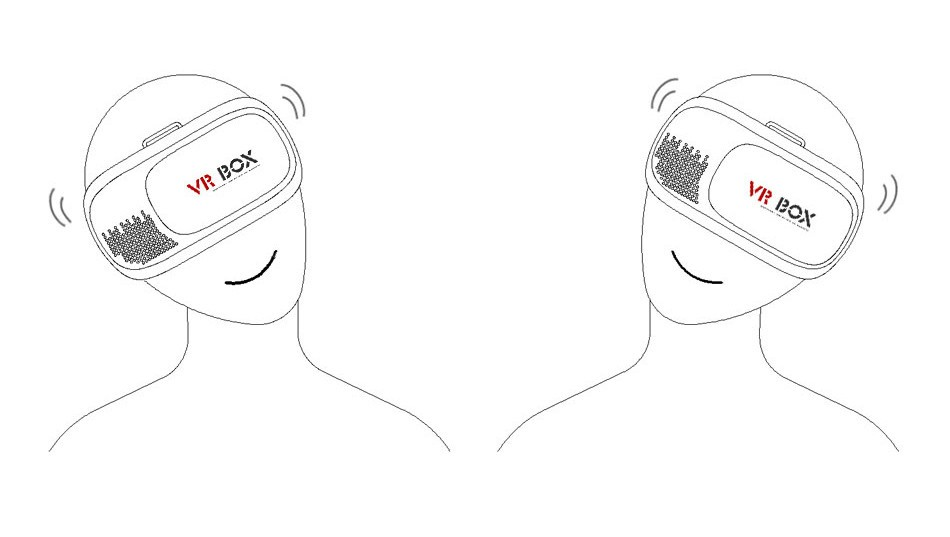 Professional VR BOX II 2 3D Glasses Xiaozhai VRBOX