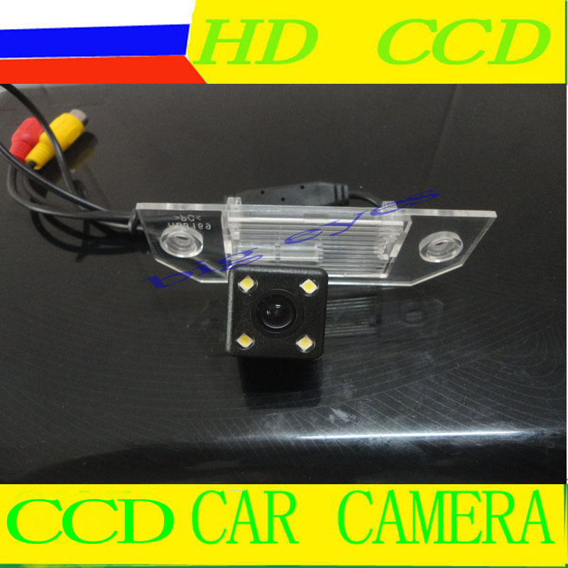 "Free shipping CCD 1/3"" Car Rear view Parking Back Up Reversing Camera For Ford Focus Sedan (2) (3)/08/10 Focus Night vision(China (Mainland))"