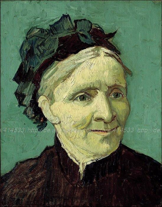 Large Canvas Wall Painting Acrylic Paint By Number Wall Vincent Van Gogh Portret Van De Moeder Van De Kunstenaar(China (Mainland))