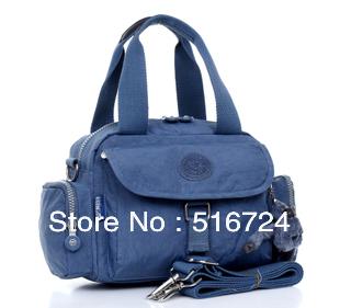 New leisure nylon cloth portable shoulder bag diagonal package