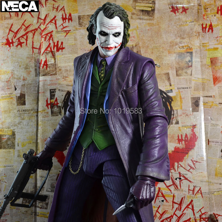 Brand New Cool Movie Action Figure Toys Batman The JOKER 18'' PVC Action Figure Model Toy For Gift/Collection/Kids(China (Mainland))