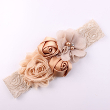 Buy 2016 New Lace Baby Headband Chic Lace Mix 4 Flower Princess Girls Headband Hair Bow Headband Baby Girl Children Hair Accessories for $1.37 in AliExpress store