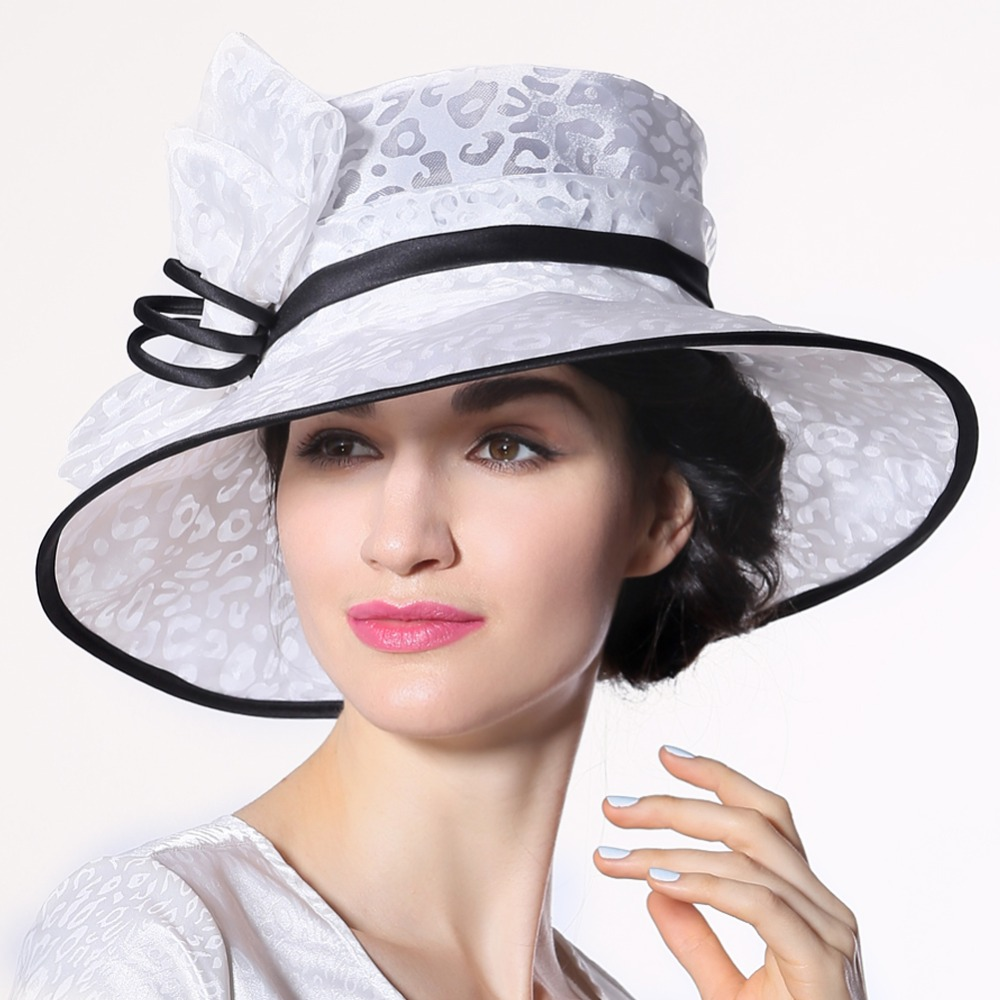 Free Shipping Women Sun Hat For Summer White Hats With ...