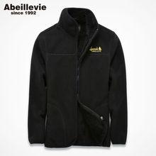 Buy Abeillevie Fleece Hoodies Men Women Sweatshirts Zipper Lovers' Jackets Casual Street Wear tracksuit Men Winter Warm Sweatshirts for $35.99 in AliExpress store
