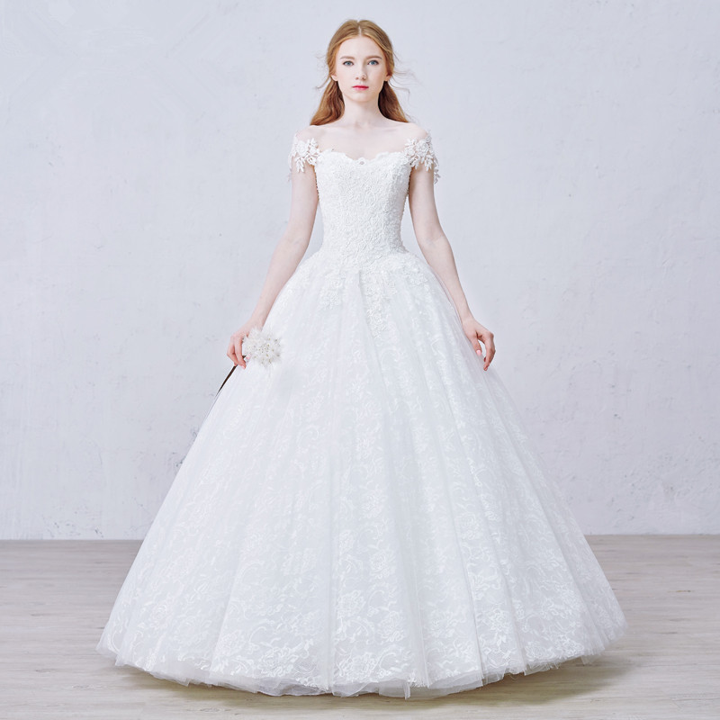 Mzyw0072 off shoulder sweetheart neckline top lace for Off the shoulder wedding dress topper