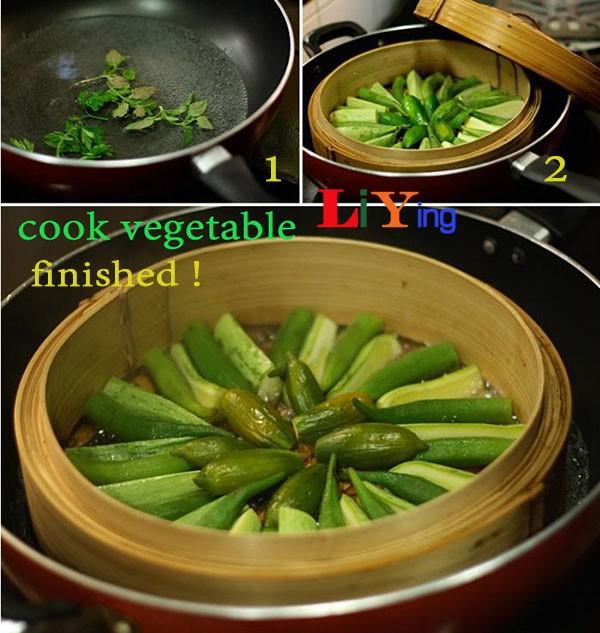 cook vegetable