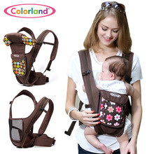 Hot 2016 New Breathable Multifunctional Front Facing Baby Carrier Infant Comfortable Sling Backpack Pouch Wrap Baby 0-30 Months