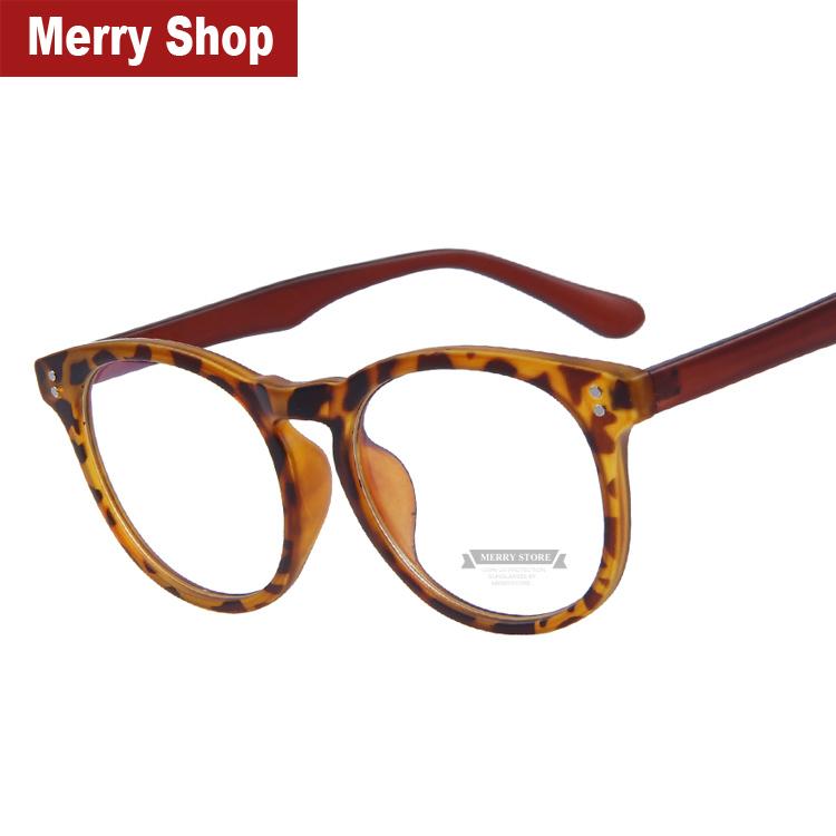 2015 New Fashion Women Rivet Eyeglasses Men Rivet Eyeglasses Frames Unisex Optical Glasses(China (Mainland))