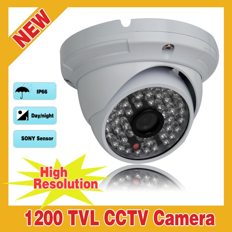New High Resolution 1200TVL SONY IMX138 Sensor CMOS IR-Cut 48 IR Outdoor Security Waterproof CCTV Camera With OSD(China (Mainland))