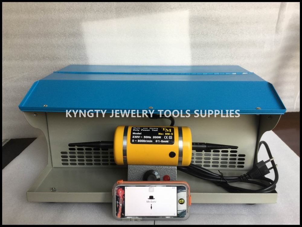 Goldsmith Polishing motor with Dust Collector,mini bench lathe,jewelry table polisher,jewelry polishing machine(China (Mainland))