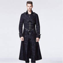 Steampunk Man Winter Casual  Black Pants
