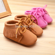 New Fashion Newborn Baby Unisex Baby Boys Girls Prewalker Shoes Infant Toddler Moccasins Soft Moccs Soft Soled Non-slip Shoes(China (Mainland))