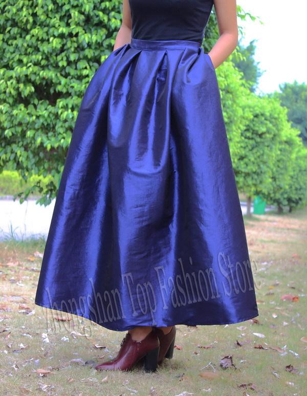 Vintage high waisted maxi skirt – Modern skirts blog for you
