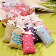 New Lovely Pretty Practical Mini Dried Flower Bud Filled Fragrant Sachet Room Wardrobe Multi Scent Decoration(China (Mainland))