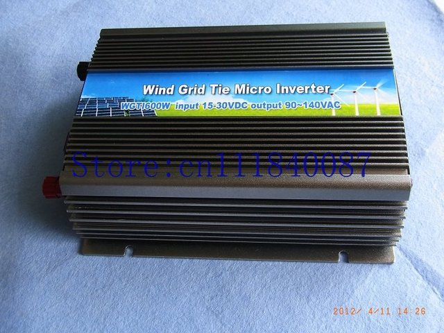 Free Shipping  via  china to Japan express  Grid Tie inverter for wine turbine 800w