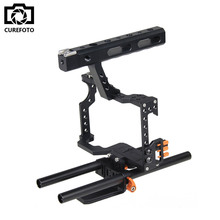 Buy Handle Grip DSLR Video Stabilizer Film Movie Making Camera Cage Panasonic GH4 Sony A7 Series Camera A7/A7II/A7s/A7r/A7RII for $77.70 in AliExpress store
