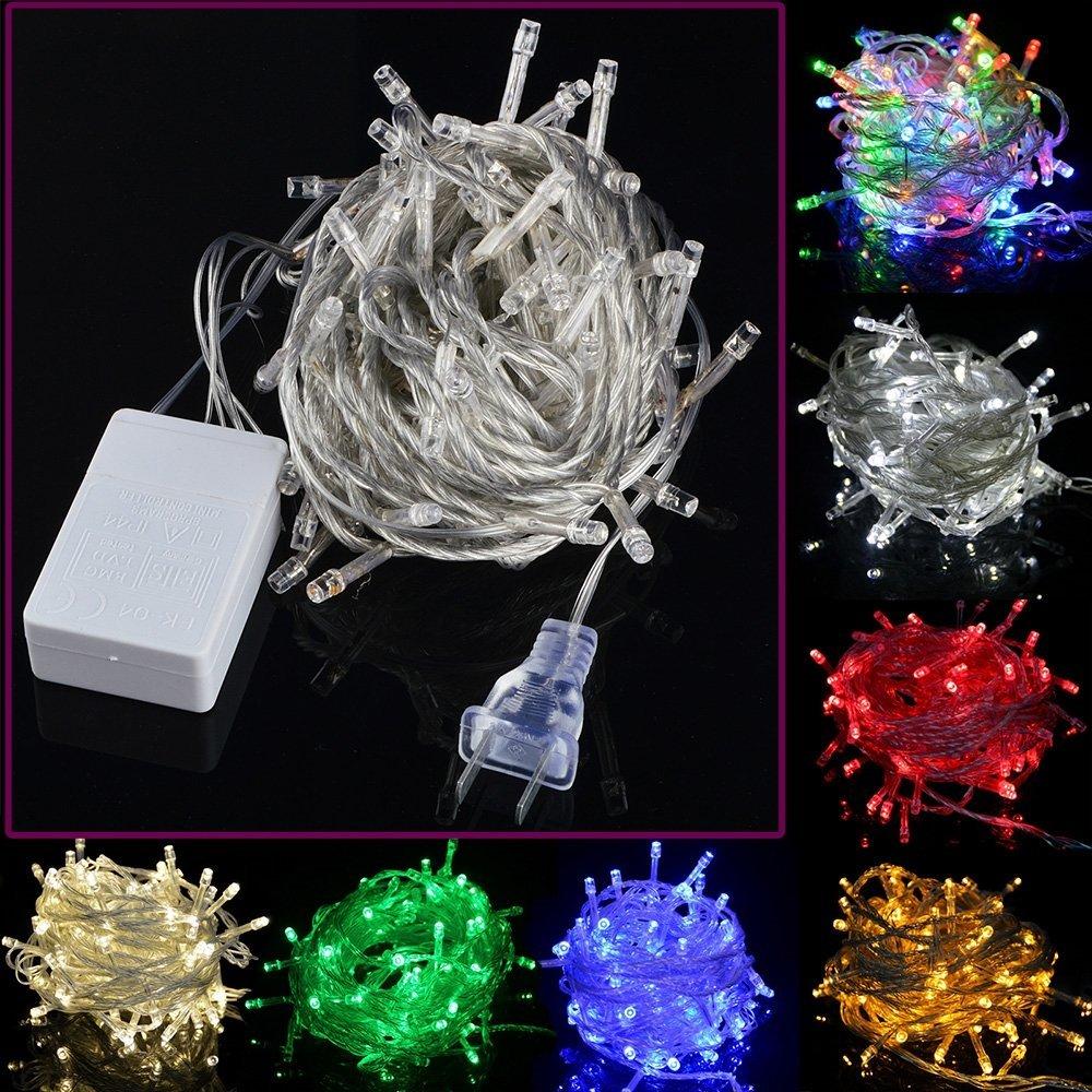 LeNest 30M 300 LEDs Flashing LED String Fairy Light 110V/220V Holiday Lights 8 Modes Christmas Party Wedding Decoration - LeChuan store
