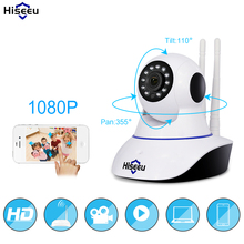 Buy Hiseeu 1080P IP Camera Wireless Home Security IP Camera Surveillance Camera Wifi Night Vision CCTV Camera Baby Monitor 1920*1080 for $34.38 in AliExpress store