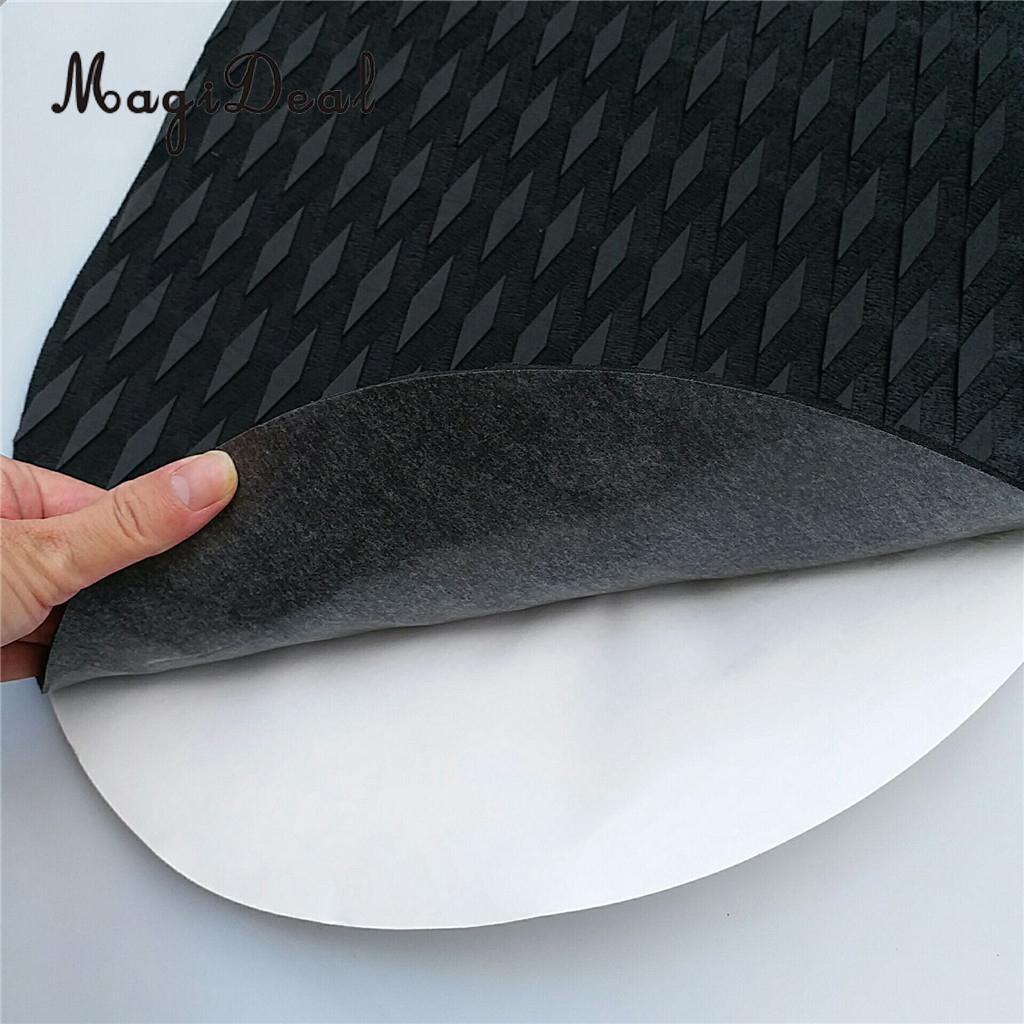MagiDeal 6 Pieces Non Slip SUP Surfboard Boat Yacht Front Foot Traction Pad Deck Grip for Water Sports Surfing Paddleboard Acces