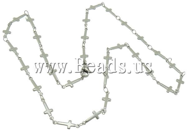 Free shipping!!!Necklace Chain,Brand jewelry, Stainless Steel, stainless steel lobster clasp, oril color, 13.50x5x1mm