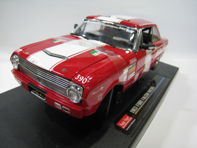 The sun star /SunSatr 1/18 1963 Ford FALCON RACING alloy model brand new special(China (Mainland))