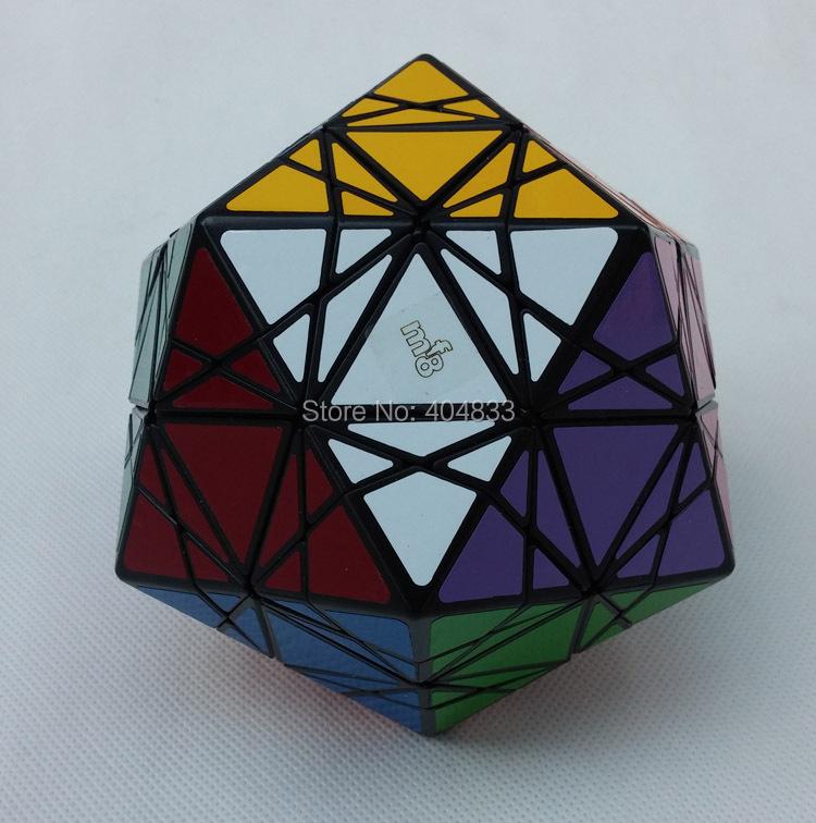 MF8 & Eitan's Star Icosahedron Puzzle Toy black Magic Cube Twsit Puzzle Educational Toy Free Shipping Drop Shipping(China (Mainland))