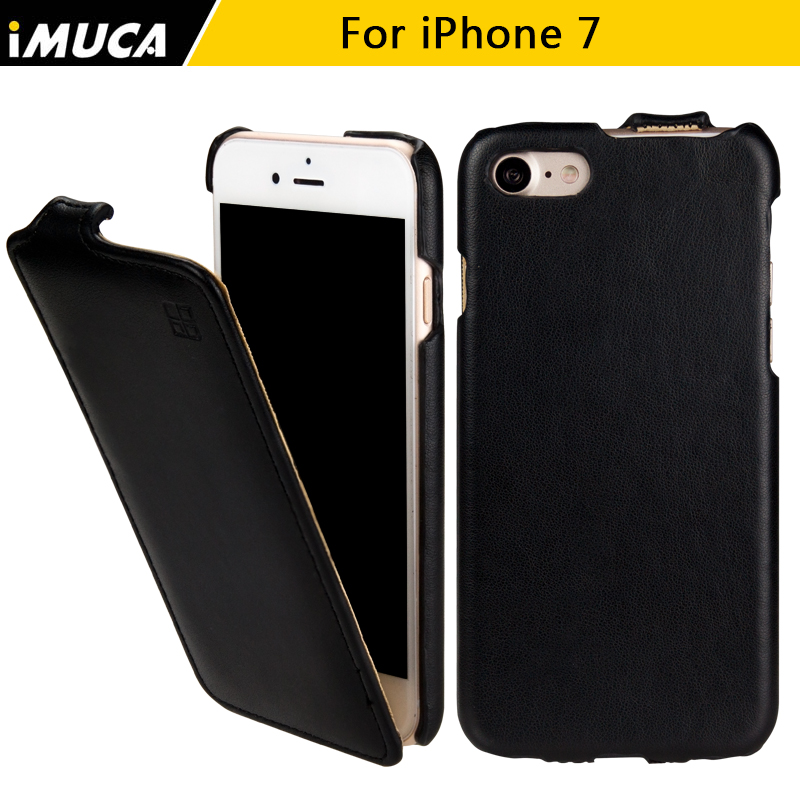 for iPhone 7 Case Cover for iphone 7 flip leather case imuca brand mobile phone bag with retail package(China (Mainland))