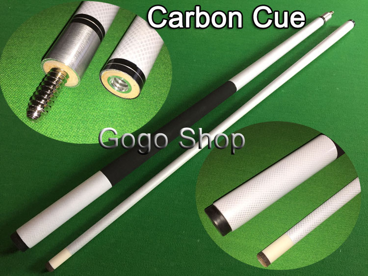 Carbon Cue 1/2 Split Center Joint Hight Quality Billiard Cues Stick Pool 13MMNine-ball Ball Arm Accessories Free Shipping(China (Mainland))