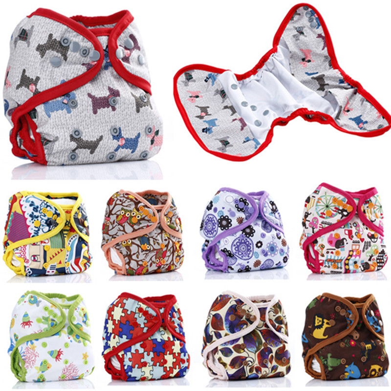 Гаджет  free shipping 10pc/lot 10pattern available cloth diaper cover nappy cover leg double gussets color tab colorful double row snap  None Детские товары