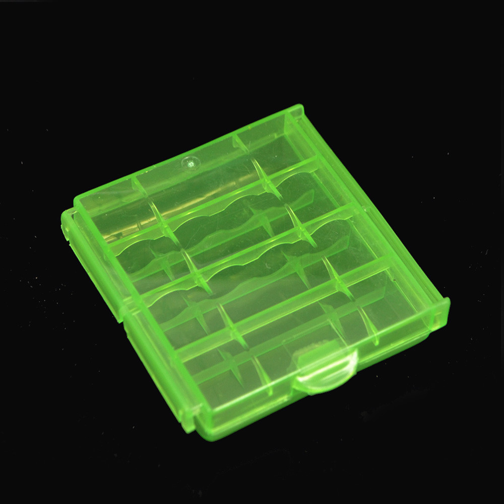 image for 1pcs Hard Plastic Case Cover Holder AA / AAA Battery Storage Box Batte