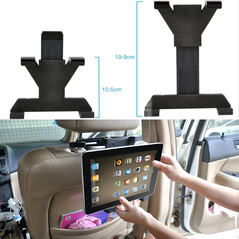 Universal Car Back Seat Headrest Mount Holder tablet car accessories For GPS DVD Google Nexus 7/10 iPad 1/2/3/4/Mini(China (Mainland))